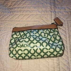 Coach small cosmetic bag.